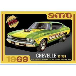 AMT\ERTL\Racing Champions.AMT 1/25 1969 Chevy Chevelle Hardtop