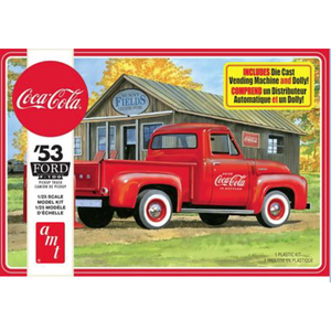 AMT\ERTL\Racing Champions.AMT 1/25 '53 Ford Pickup- CocaCola