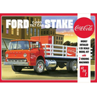 AMT\ERTL\Racing Champions.AMT AMT Ford C600 Stake Bed w/Coca-Cola Machines 1/25 Model Kit