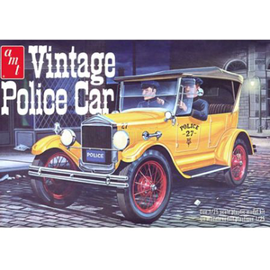 """AMT\ERTL\Racing Champions.AMT 1/25 27'  Ford """"T"""" Police Car"""