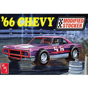 "AMT\ERTL\Racing Champions.AMT 1/25 ""66 Chevy Impala Modified"