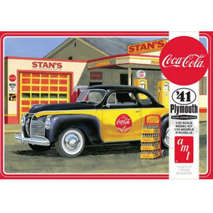 """AMT\ERTL\Racing Champions.AMT 1/25 '41 Plymouth Coupe """" Coke"""""""