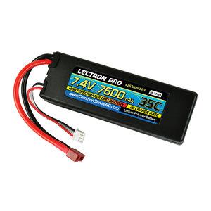 Common Sense R/C . CSR Lectron Pro 7.4 V 7600Mah 35C Lipo Batt W/Deans