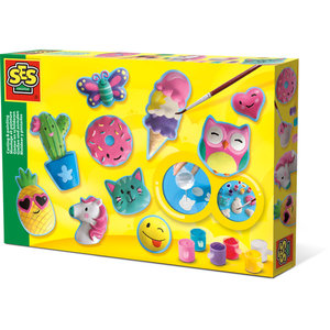 SES Creative . SES Happy Figures - Casting and Painting Creativity Kit