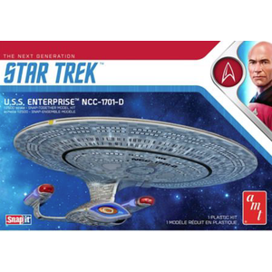 AMT\ERTL\Racing Champions.AMT 1/2500 Star Trek Enterprise D Snap kit