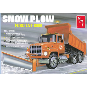 AMT\ERTL\Racing Champions.AMT 1/25 Ford LNT-800 Snow Plow