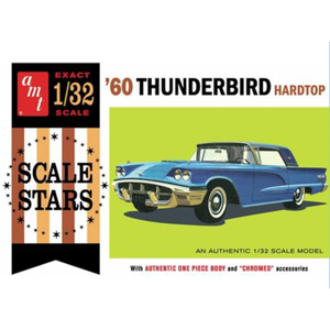 AMT\ERTL\Racing Champions.AMT 1/32 1960 Ford Thunderbird