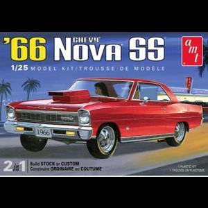 AMT\ERTL\Racing Champions.AMT 1/25 '66 Chevy Nova SS