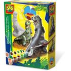 SES Creative . SES T-Rex - Casting & Painting Creativity Kit