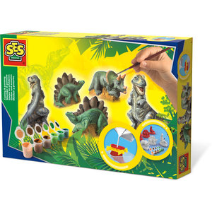 SES Creative . SES Dinosaurs - Casting & Painting Creativity Kit
