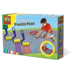 SES Creative . SES Chalk Powder Paint Creativity Kit