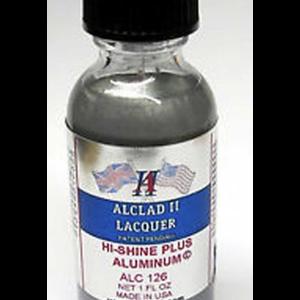 Alclad Paint . ALD 1oz Hi-Shine Plus Aluminum