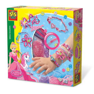 SES Creative . SES Glitter Bracelents Creativity Kit