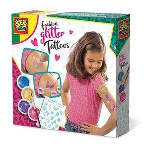 SES Creative . SES Fashion Glitter Tattoos Creativity Kit