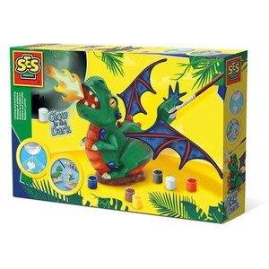 SES Creative . SES Dragon - Casting & Painting Creativity Kit