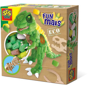 SES Creative . SES Fun Mais - Dino with Wooden Skeleton