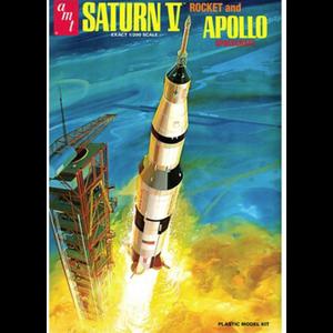 AMT\ERTL\Racing Champions.AMT 1/200 Saturn V Rocket