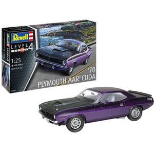Revell of Germany . RVL 1/25 1970 Plymouth AAR Cuda