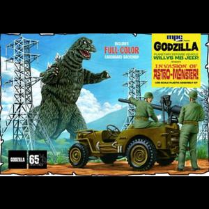 MPC . MPC 1/25 Godzilla Jeep