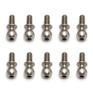 Associated Electrics . ASC Heavy Duty Ballstud, 6mm (10pcs)