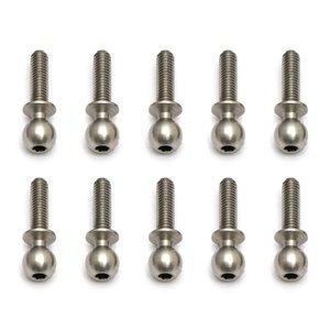 Associated Electrics . ASC Heavy Duty Ballstud, 10mm (10pcs)