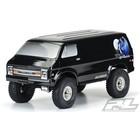 """Pro Line Racing . PRO 70's Rock Van Tough-Color (Black) Body for 12.3"""""""