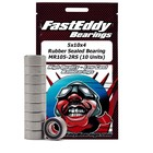 FASTEDDY . FEB 5x10x4 Rubber Sealed Bearings MR105-2RS (10)