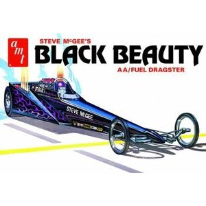 AMT\ERTL\Racing Champions.AMT 1/25 Steve McGee Black Beauty Wedge Dragster
