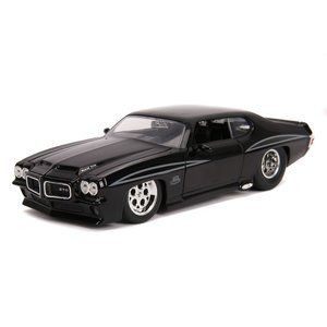 "Jada Toys . JAD 1/24 ""BIGTIME Muscle"" 1971 Pontiac GTO - Glossy Black"