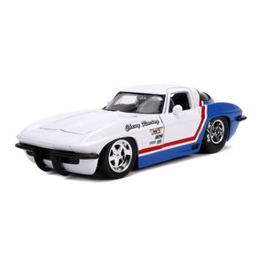 "Jada Toys . JAD 1/24 ""BIGTIME Muscle"" 1963 Chevy Corvette"
