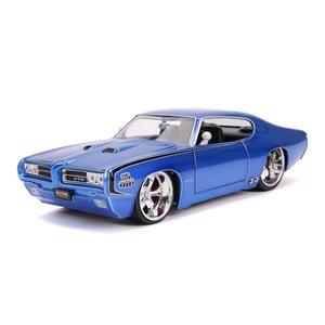 """Jada Toys . JAD 1/24 """"BIGTIME Muscle"""" 1969 Pontiac GTO Judge"""