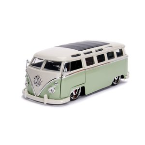 "Jada Toys . JAD 1/24 ""BIGTIME Kustoms"" 1/24 1962 VW Bus - Green"