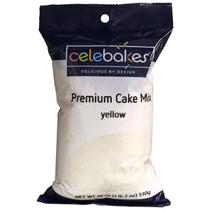 CK Products . CKP Celebakes Yellow Premium Cake Mix, 18 oz.