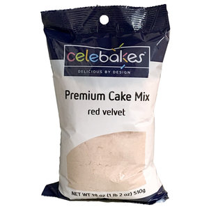 CK Products . CKP Celebakes Red Velvet Premium Cake Mix, 18 oz.
