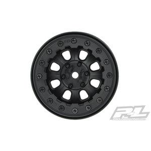 Pro Line Racing . PRO DENALI 2.2' BLACK BEAD-LOC WHEELS