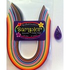 "Quilled Creations . QUI Solid Quilling Paper Sampler (1/8"")"
