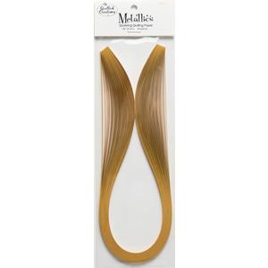 """Quilled Creations Gold Metallic Quilling Paper (1/4"""")"""