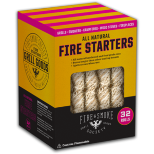 Fire and Smoke Society . FSS All Natural Fire Starters (32 Count)