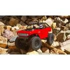 Axial . AXI SCX24 Deadbolt 4WD Rock Crawler Brushed RTR, Red