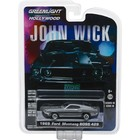 Green Light Collectibles . GNL 1:64 John Wick (2014) - 1969 Ford Mustang BOSS 429