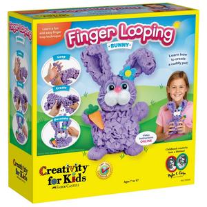 Creativity for kids . CFK Finger Looping – Bunny