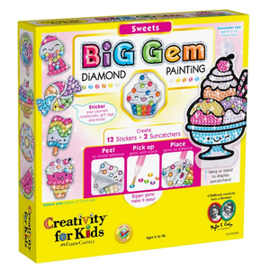 Creativity for kids . CFK Big Gem Diamond Painting – Sweets