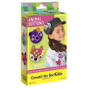 Creativity for kids . CFK Animal Buttons