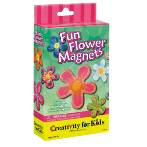 Creativity for kids . CFK Fun Flower Magnets