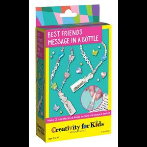 Creativity for kids . CFK Best Friends Message In A Bottle