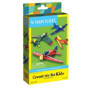 Creativity for kids . CFK 4 Foam Fliers