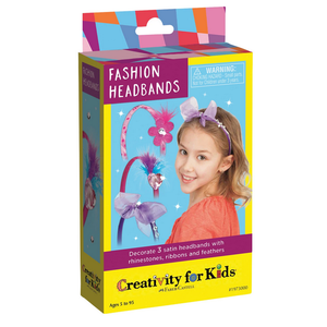 Creativity for kids . CFK Fashion Headbands