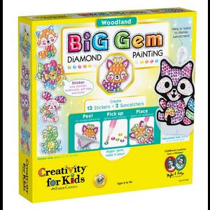 Creativity for kids . CFK Big Gem Diamond Painting – Woodland