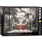 Eurographics Puzzles . EGP New Orleans Streetcars - 1000pc Puzzle
