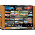 Eurographics Puzzles . EGP American Cars of the 1960s - 1000pc Puzzle